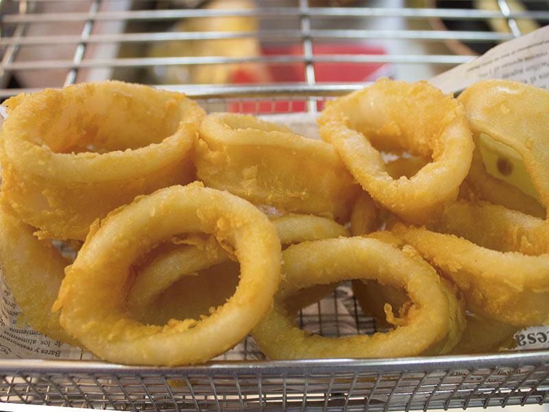 Calamares del Restaurante El Racó