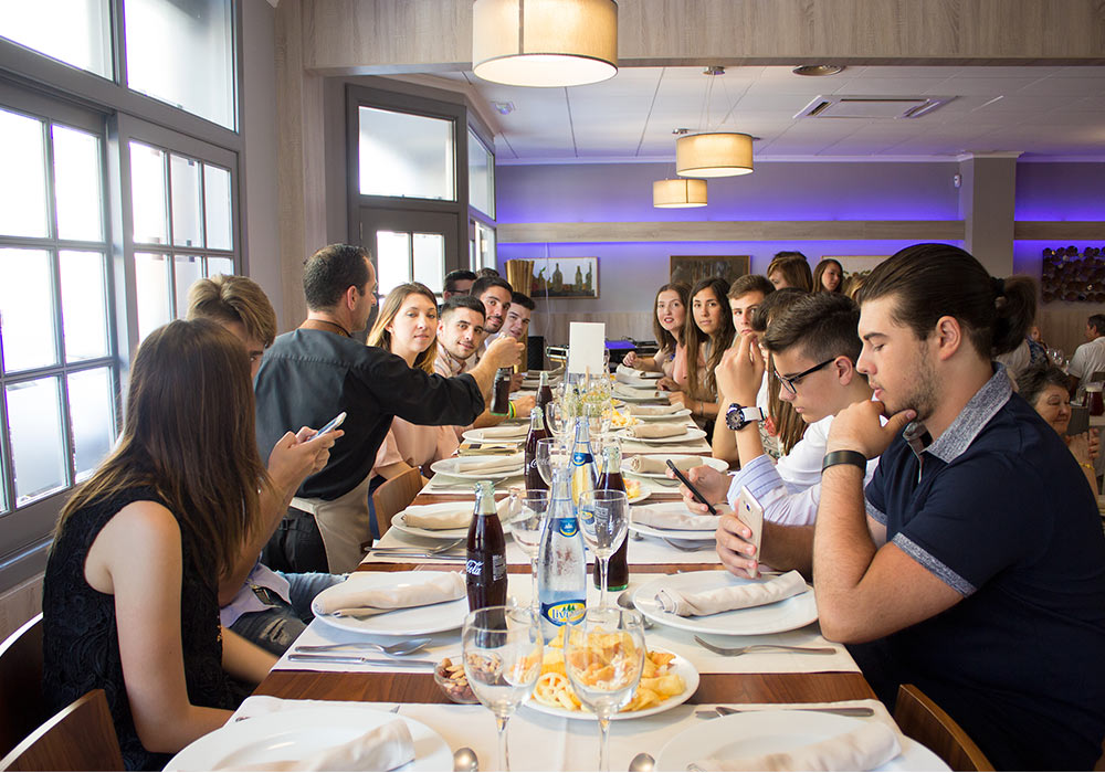 Fiesta de despedida de soltero en el Restaurante El Racó de Meliana