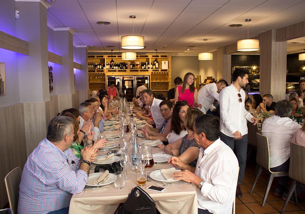 Celebración de eventos en el Restaurant el Racó de Meliana